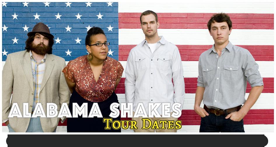 Alabama Shakes Tour Dates